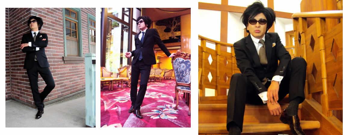 ゴージャスに!ワイルドに着こなせ!ルアーヴルの美しいメンズスーツ!