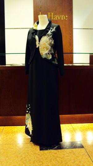 2piece美 黒留袖ドレス