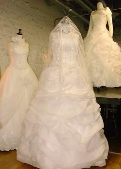 ルアーヴルのオーダーメイドウェディングドレス