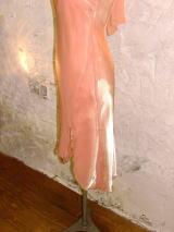 ロールカラードレス