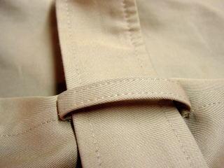 コートベルト作成 肩章作成 袖