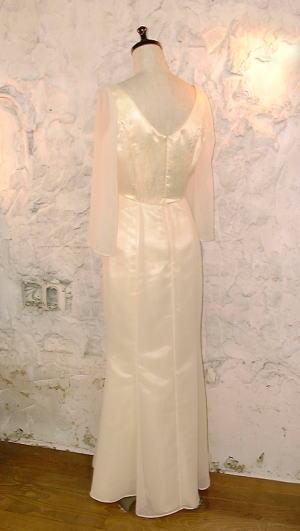 シフォンマーメイドドレス