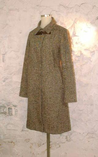 コートのフード襟(えり/衿)を「台えり付きシャツカラー」にリメイクする!