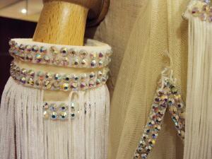 フリンジのダンスドレスの超綺麗リメイク!