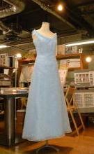 カラードレスを、およばれドレスにリメイクする