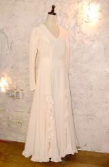 フラメンコをウエディングドレスにリメイク