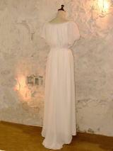 ジョーゼットウエディングドレス