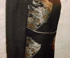 羽織りVneckドレス