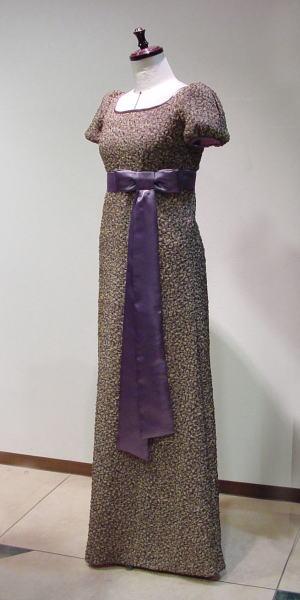 ハイウエストbyロングリボンドレス
