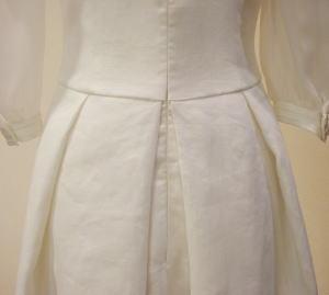 アイリッシュリネンウエディングドレス