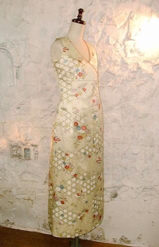 小紋のドレス