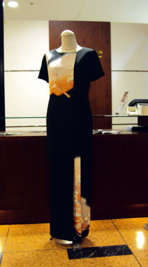 黒留袖ドレス&ジャケットwith_リボン