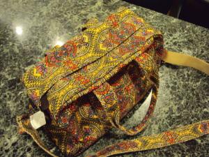 愛するペットちゃんキャリーバッグも自分のお気に入りバッグで創る