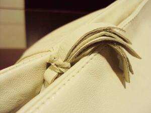 レザースカートからもショルダーバッグを作る!