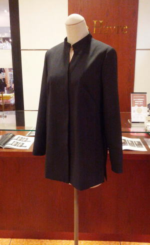 マオカラーパンツスーツ2