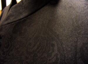 マオカラースーツ ジャガード