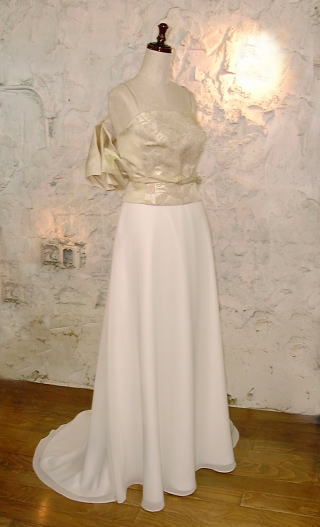 Obiウエディングドレス
