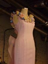 お花のウエディングドレス