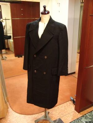 メンズカシミアも美比翼&台襟コート
