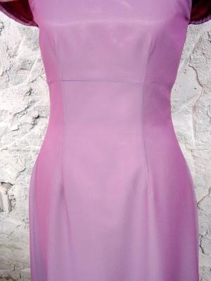 ショルダースリーブドレス