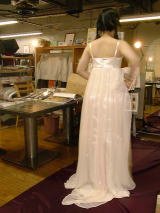 スリップウエディングドレス