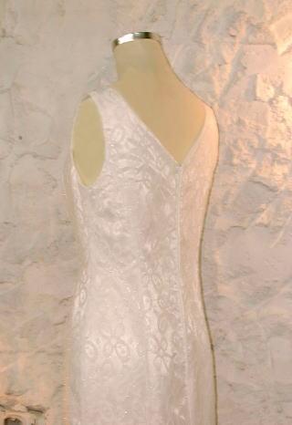 スクエアネックドレス