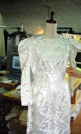 ウエディングを、感動ドレスにリメイクする 3