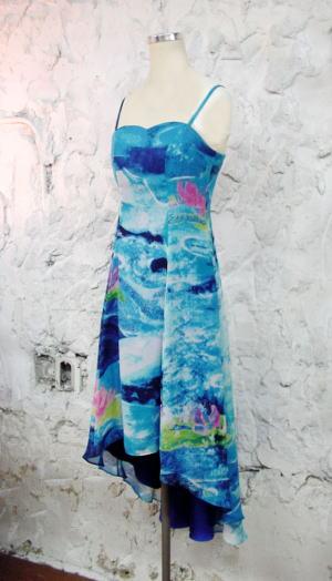 Water_lilyスリップドレス