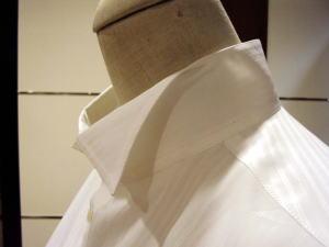 ウィングカラーシャツ&ドゥエボットーニ シャツ