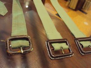 再生!バーバリーコートの袖ベルトを作成!
