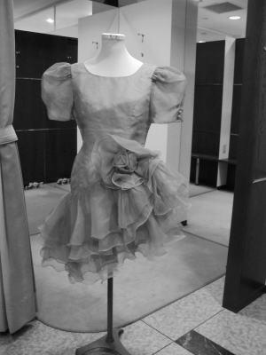 ワンピースをロングカラードレスにリメイク!