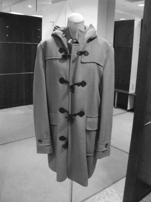 ダッフルコートがスタンド襟コートにリメイク!