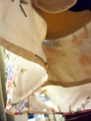 花柄サロペットをキュートなワンピースにしてみる!