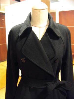 ラグランのダブルコートが綺麗&おとなコートに変貌!