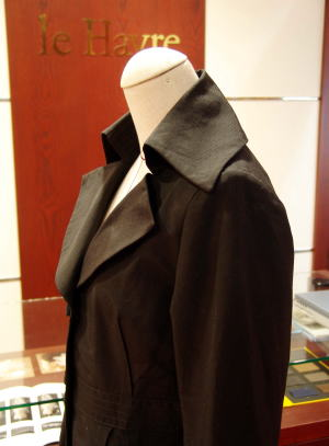 ジャケット襟リメイクがカッコいい!