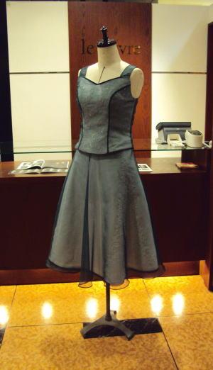ウエディングドレスをセパレートドレスにリメイク