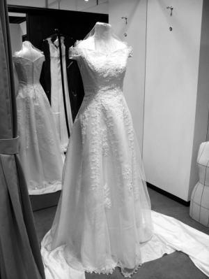 Remake :→Wedding_dress by Separate_dress ウエディングドレスを、上下別のビスチェとスカートドレスに