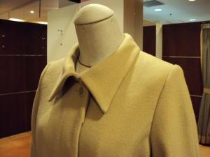 極太ラグランコートが、今風細身の綺麗コートに生まれる!